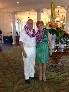 Guldbröllop på Hawaii