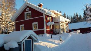 Vinter och snö i Nässi